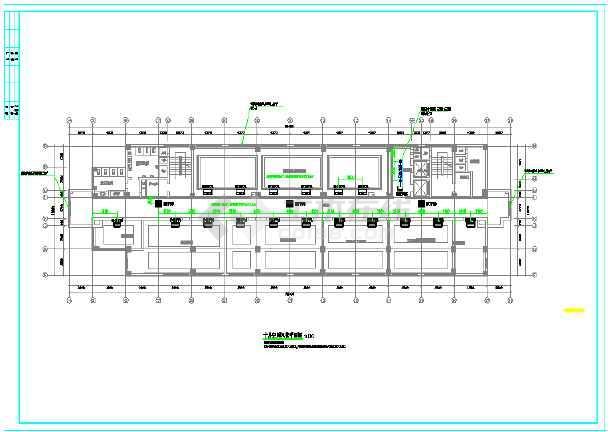 某市电子信息平台扩展改造工程暖通施工图-图1