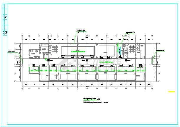 某市电子信息平台扩展改造工程暖通施工图-图2