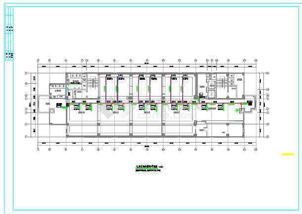 某市电子信息平台扩展改造工程暖通施工图-图3