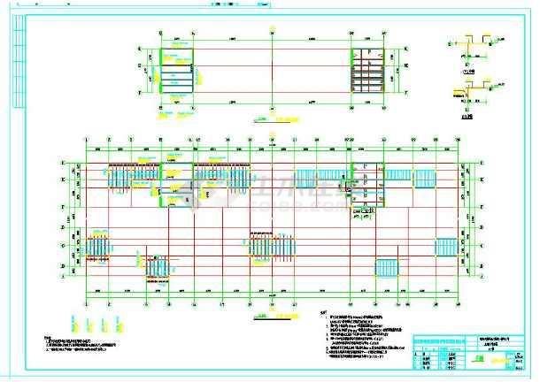高层安置房结构设计CAD施工图纸-图3