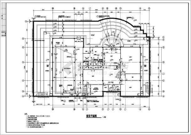 某市休闲别墅建筑结构施工图纸(全套)-图2