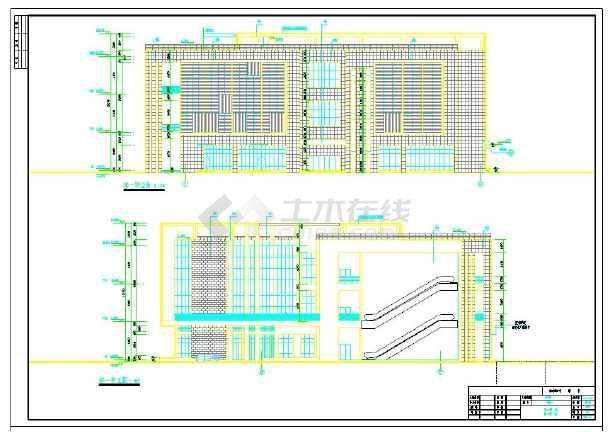 4幢很不错的沿街商业用房建筑施工图-图1