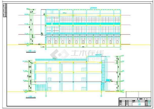 4幢很不错的沿街商业用房建筑施工图-图2