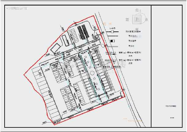 山村股份经济合作社市政配套工程设计-图2