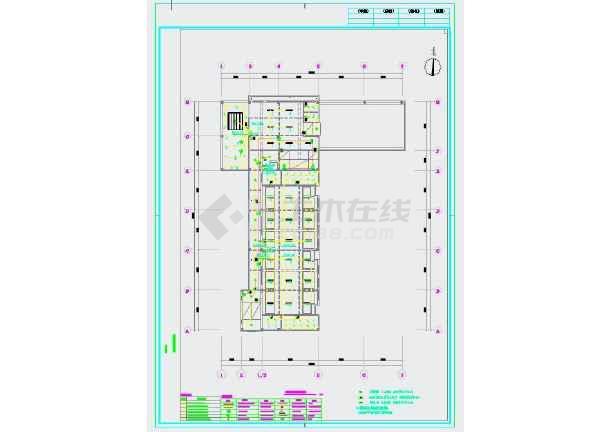 广东省某幼儿园装修工程电气施工图-图1