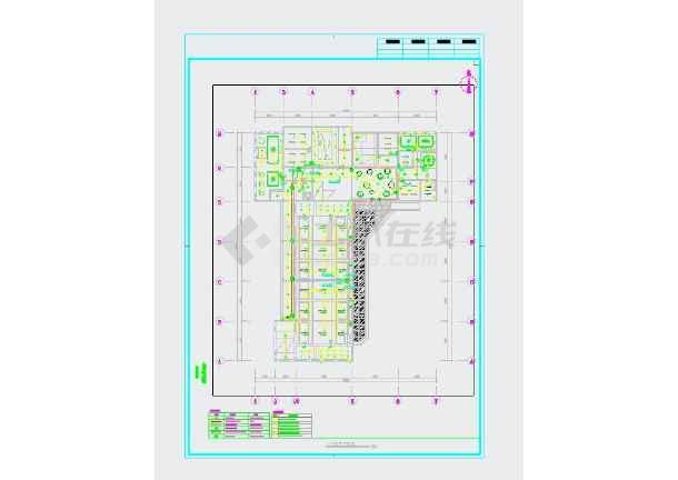 广东省某幼儿园装修工程电气施工图-图3
