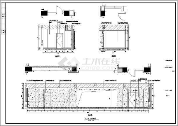 某市电子信息平台扩展改造工程装修设计施工图-图2