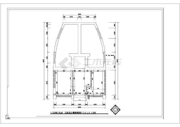 某地城镇改造公共厕所改造设计图纸-图2