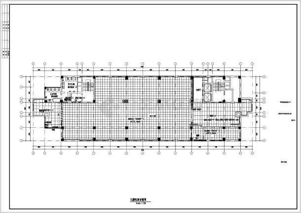 某市电子信息平台扩展改造工程土建施工图-图2