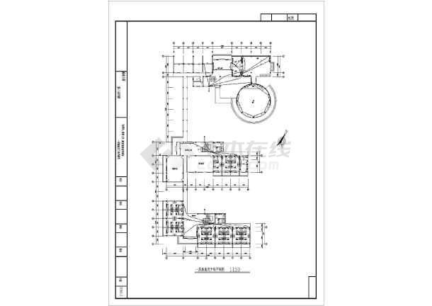 某高速公路服务站全套v全套电气多线CAD方案cad的图纸图片