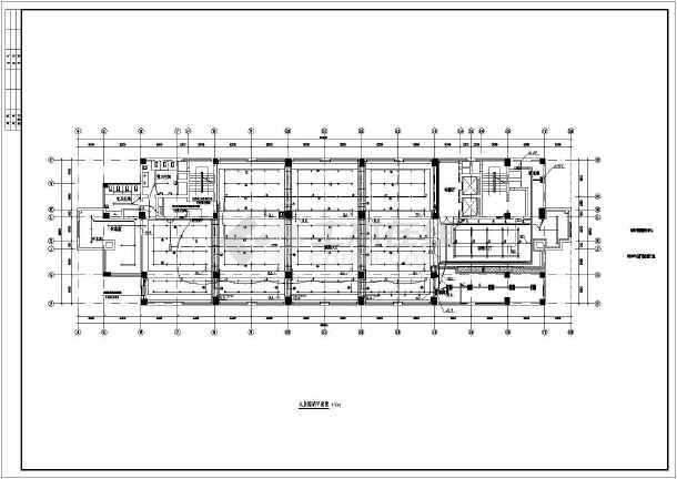 某市电子信息平台扩展改造工程电气施工图-图2