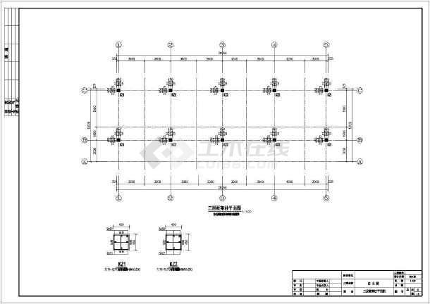 某地区古代徽派建筑马头墙cad结构设计施工方案图纸-图3