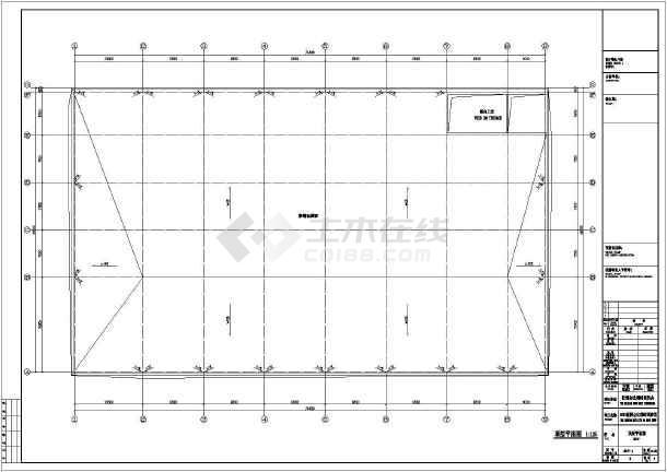 2层世博会比利时馆建筑方案设计CAD图-图1