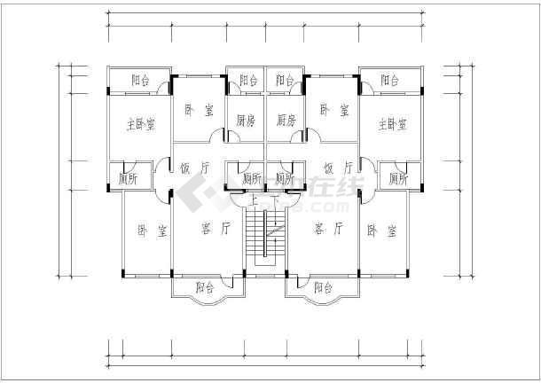 碧桂园小区规划与户型设计CAD平面