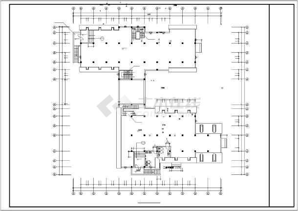 艺术钟楼建筑设计方案及施工全套CAD图-图1