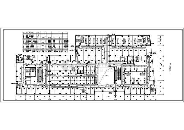 某广场综合大楼暖通工程CAD设计施工图纸-图2