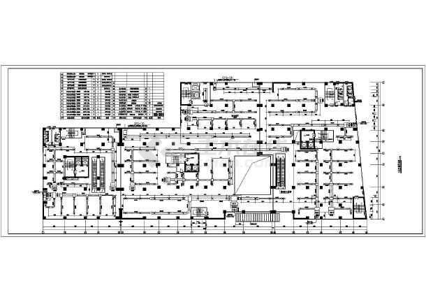 某广场综合大楼暖通工程CAD设计施工图纸-图3