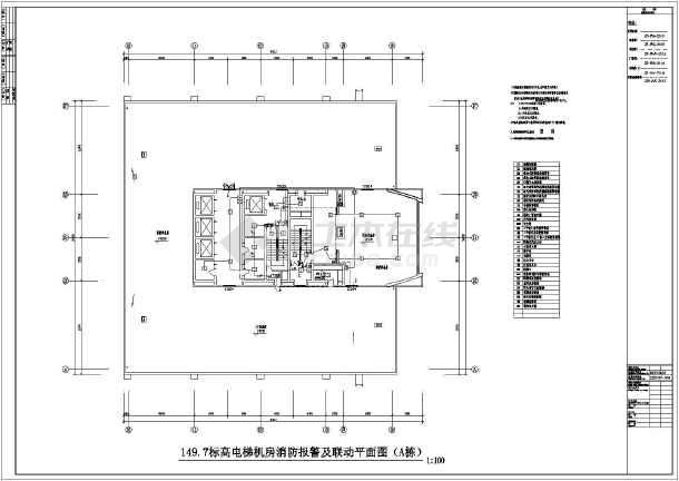 水电间消防报警及才能v水电水箱方案CAD全套怎么样看懂图纸联动图纸图片