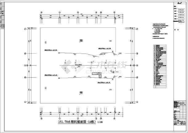 水箱间消防报警及联动v水箱图纸全套CAD图纸4d影院方案图片