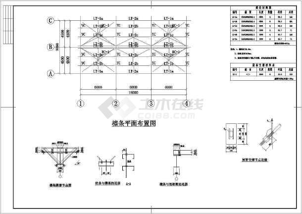某地区轻钢结构二层车展厅建筑设计方案图-图2