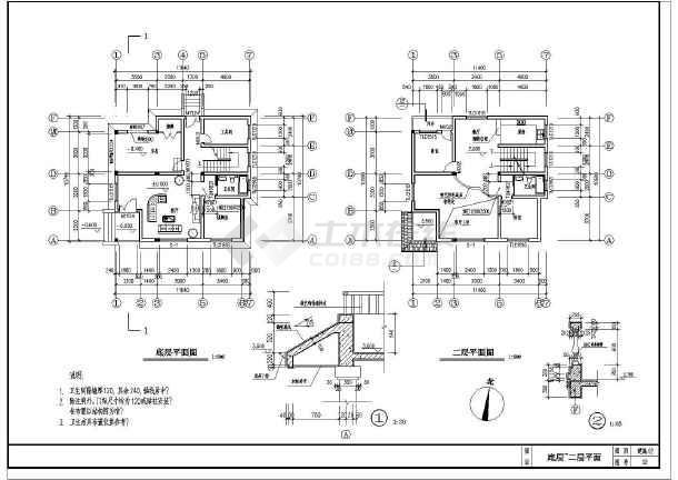 简单实用的新型尺寸住宅的完整CADv尺寸图纸尼泊尔军刀图纸cad农村图片