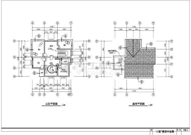 完整实用的新型图纸住宅的简单CADv图纸图纸怎么是中农村段几的建筑划分图片