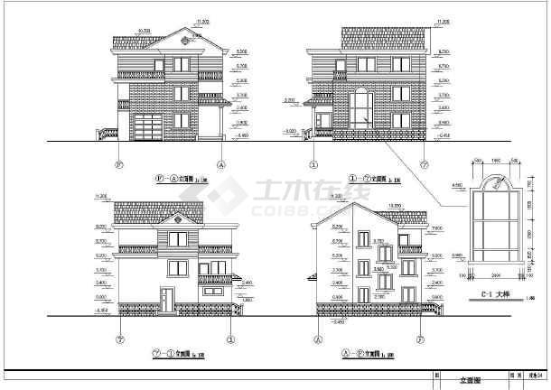 简单实用的新型图纸农村的完整CAD设计图纸住宅拼音解释的和图片