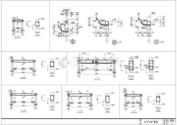 简单实用的新型图纸农村的完整CADv图纸住宅电枢轴图纸图片