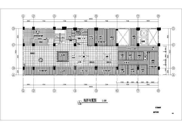 图纸咖啡厅设计楼梯及施工方案CAD弧形cad全套画画怎么标准图片