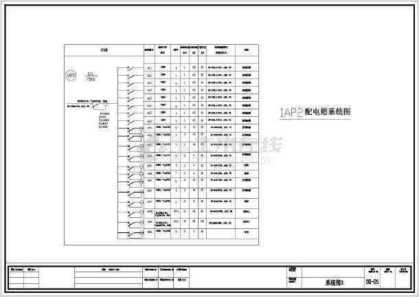 某地区住宅楼全套电气v全套CAD施工图学怎样cad图片