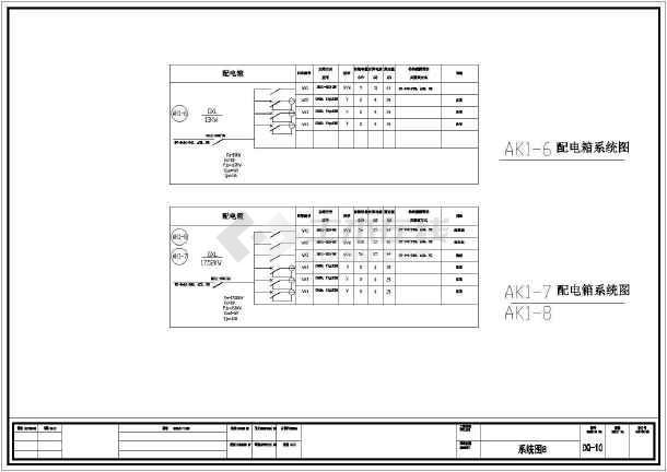 某地区住宅楼全套电气v全套CAD施工图cad软图片