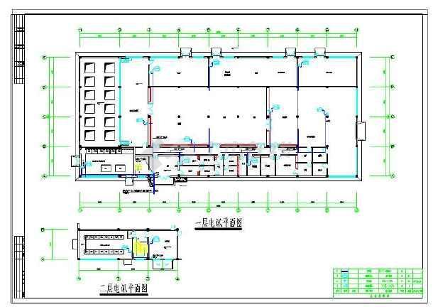 某厂精烘包系统设计方案及施工全套cad图纸    内容包括:低压配电系统图片