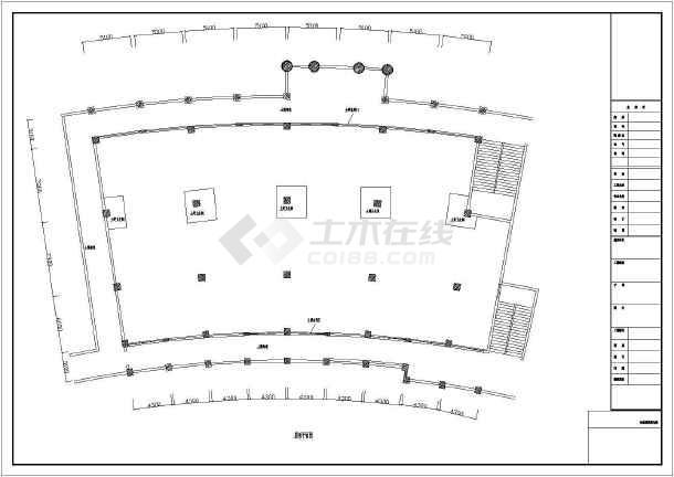 星巴克咖啡厅施工全套及设计总线CAD方案_ccad长图纸图片
