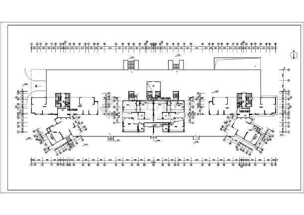 某住宅楼电气v电气全套cad施工图cad的块修改图片
