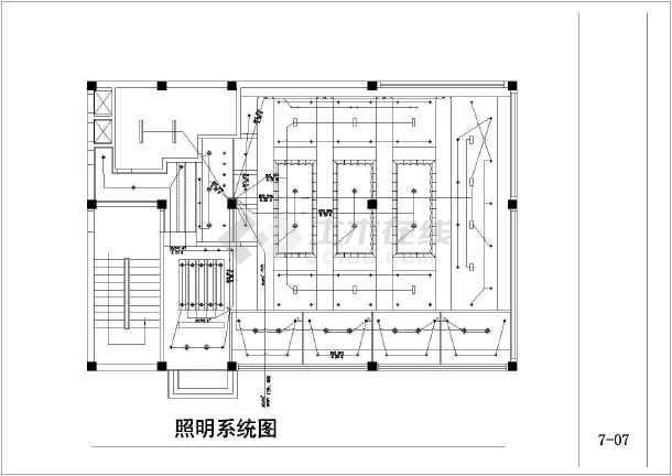 咖啡厅施工方案及设计全套CAD平面图2014cad查找如何图片