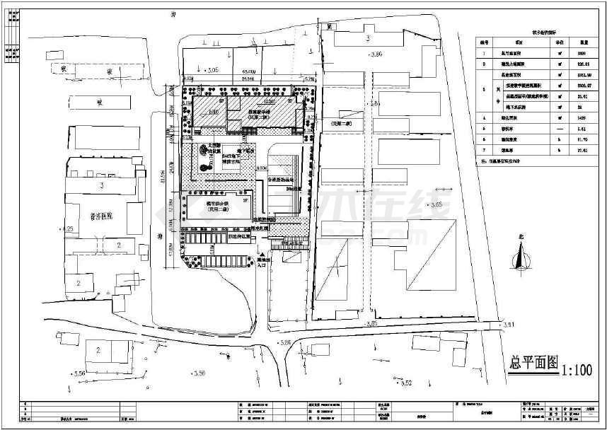 幼儿园门卫建筑设计图(含晨检隔离室)