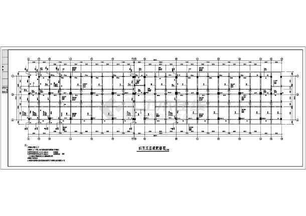 太横酒店建筑结构施工全套方案设计图-图3