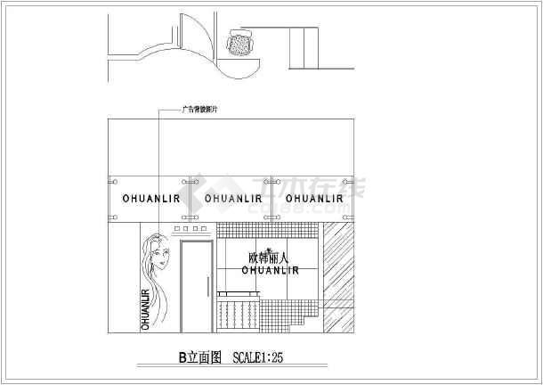 服装店设计cad平面图