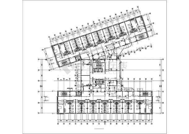 某地城市广场建筑施工图纸(全套)-图1