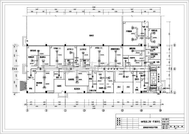 某药厂经典GMP工程cad平面施工方案图纸-图3