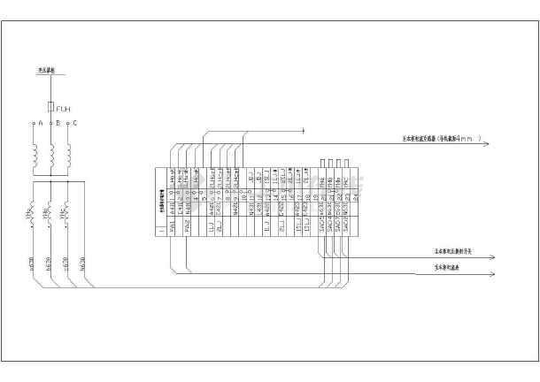 某地区630KVA电气图纸施工CAD设计轴线2007cad箱变打开没图纸图片