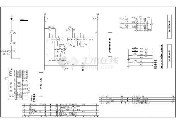 某地区630KVA电气图纸设计CAD施工箱变电磁炉小鸭图纸图片