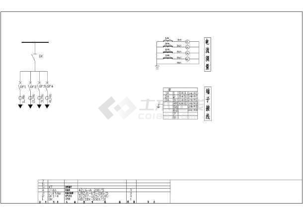 某地区630KVA材料电气施工CAD设计图纸计算箱变图纸根据图片