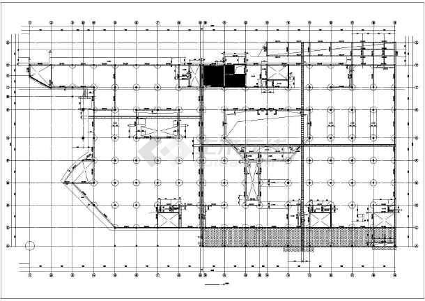 某建筑楼框支剪力墙结构cad施工图纸-图2