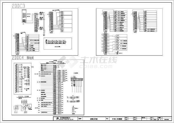 比较详细的DDC接线电气图 共12张