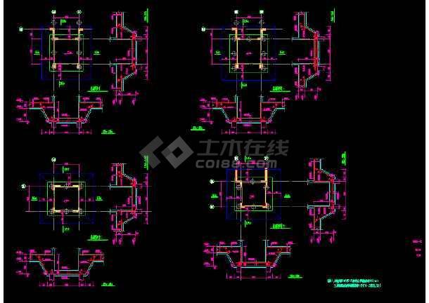 住宅小区大地下室桩基 结构施工图纸
