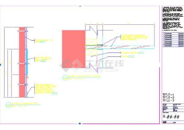 某地设计美发厅装修CAD美容图纸(英文)房子怎么图纸设计图n看图片