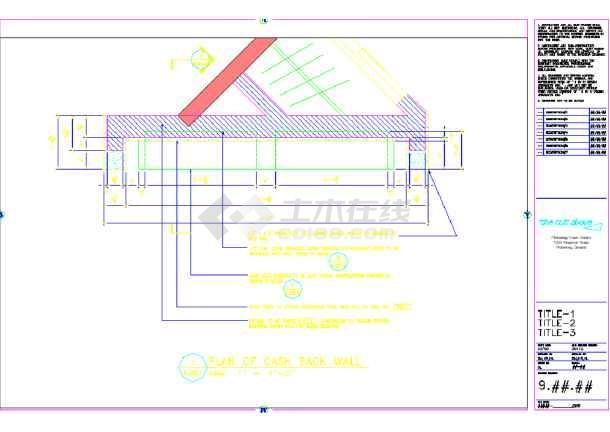 某地设计美发厅装修CAD美容图纸(英文)的管道图纸书籍摆阴影工艺角图片
