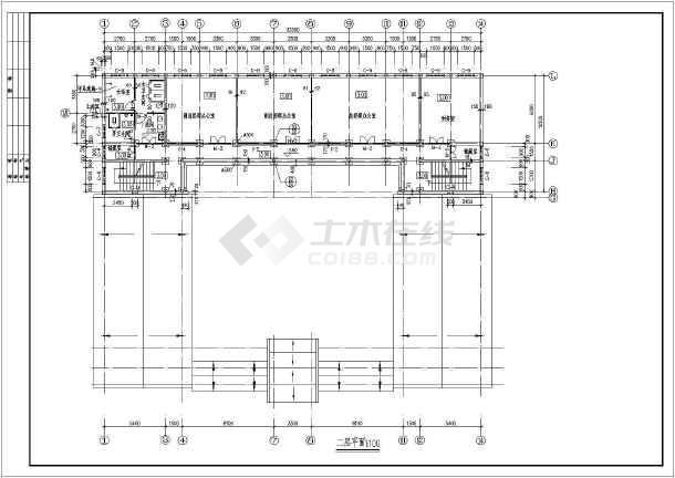 中国古建四合院建筑设计CAD施工图-图1