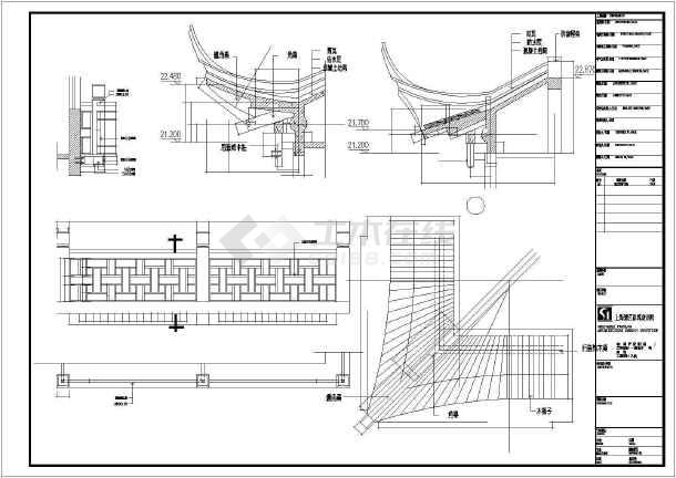 某地茶城内部装修CAD设计施工图-图2
